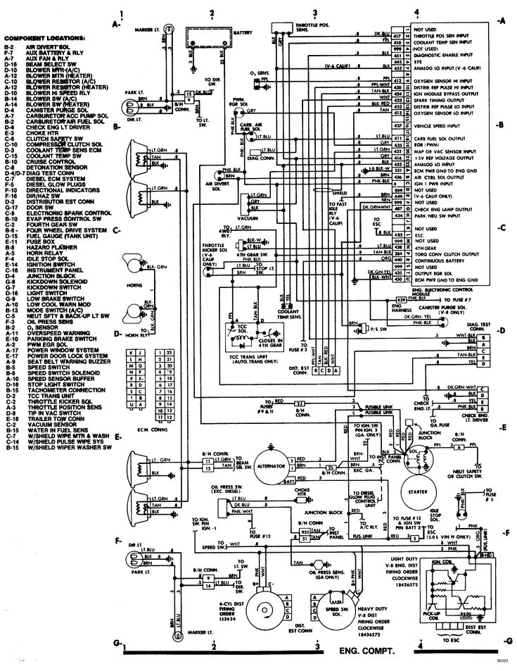 1998 chevy truck wiring diagram steering 85 chevy truck wiring diagram | chevrolet c20 4x2 had ... 1998 chevy truck parts diagram #4