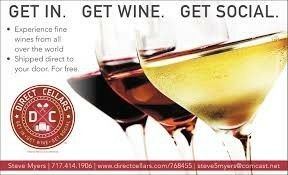 Direct Cellars of NJ!  Get in. Get wine. Get social!!! This is the fastest growing mlm company of the year! Get paid by sharing your experiences or simply become a club member and get premium wines from all over the world shipped directly to your door. Don't like a selection??? Keep the bottle and we will replace it for FREE!