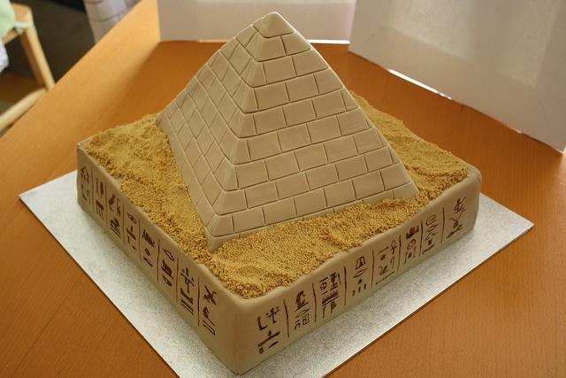 Egyptian Chocolate Cake History