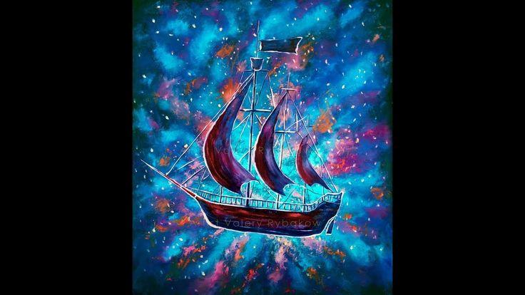 Купить картину Старый пиратский корабль, Питер Пэн ...