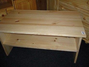 konfereční stolek z masivu od výrobce, materiál