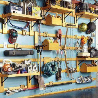 3720-Modular Garage Storage Plans
