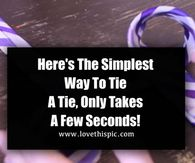 Here's The Simplest Way To Tie A Tie, Only Takes A Few Seconds!