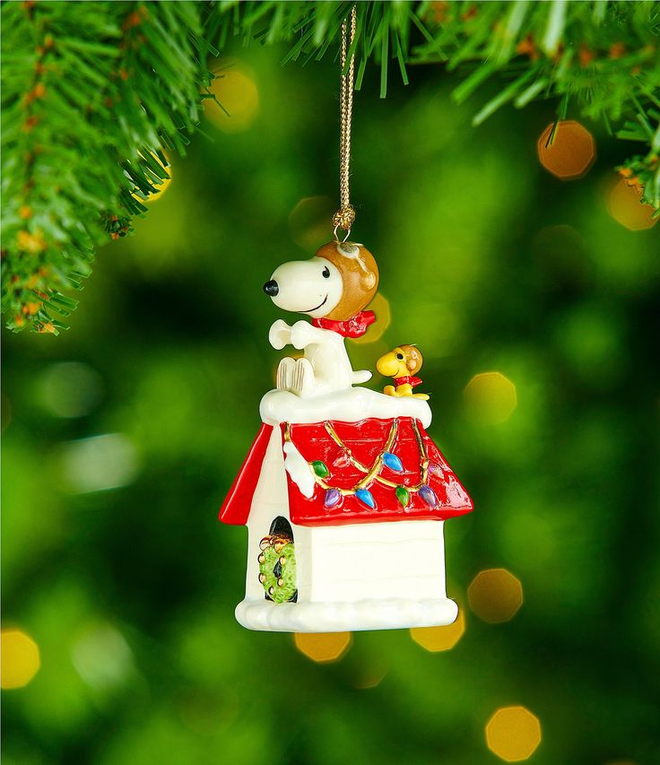 Lenox Snoopy The Flying Ace Ornament #Dillards