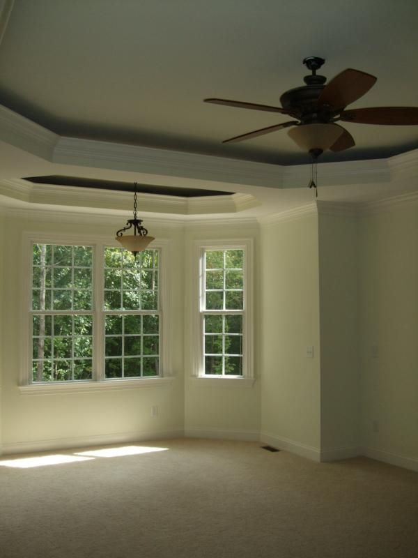 Trey ceiling ideas for your new home master bedroom for Master bedroom ceiling designs