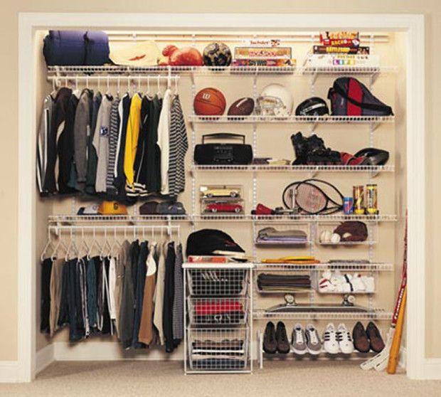 diy wire closet - photo #9