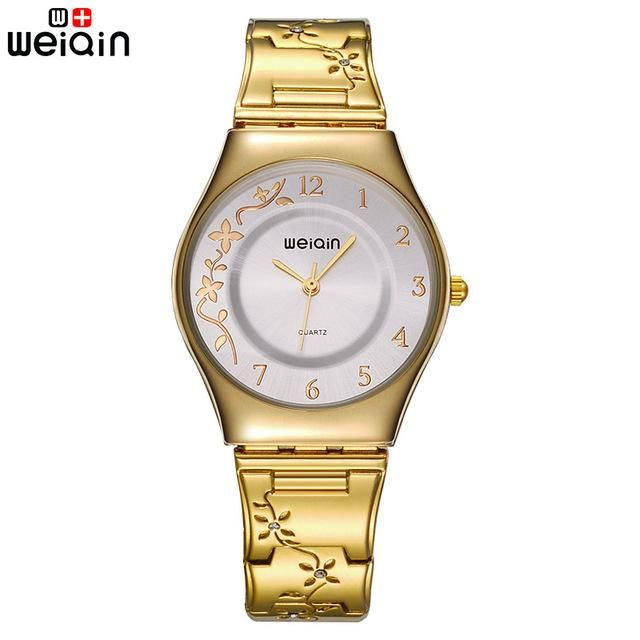 Quartz Ultra Slim Silver Flat Watch