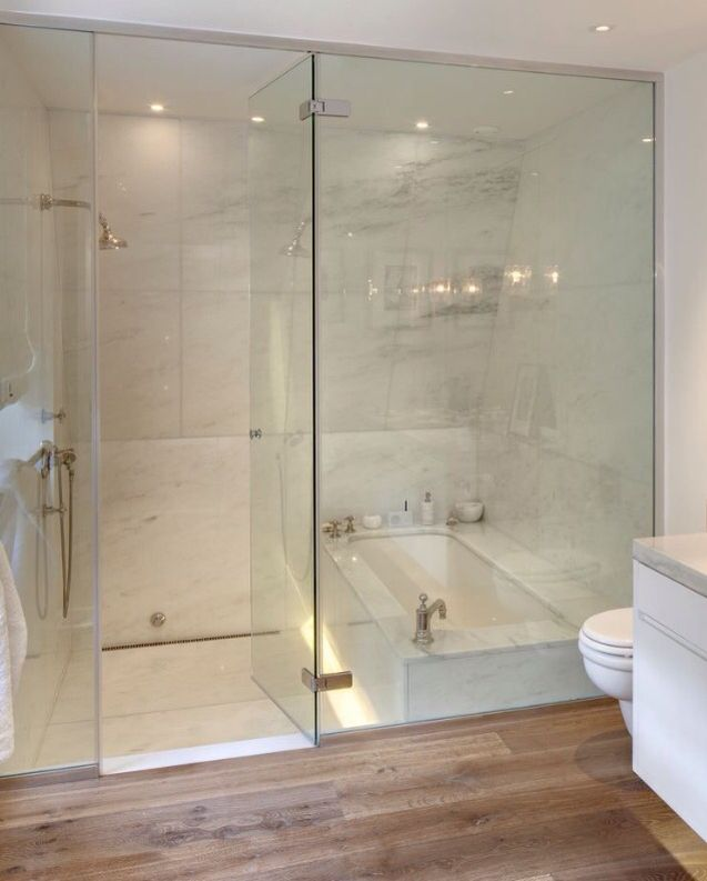 Dos Architects + Tub/Shower Combo, Wish I Had Seen This When I Way Trying  To Decide How To Do The Bathroom Year Before Last.