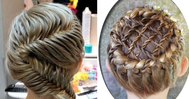 Check out these insane braids. You have to wonder if they were made by real humans!