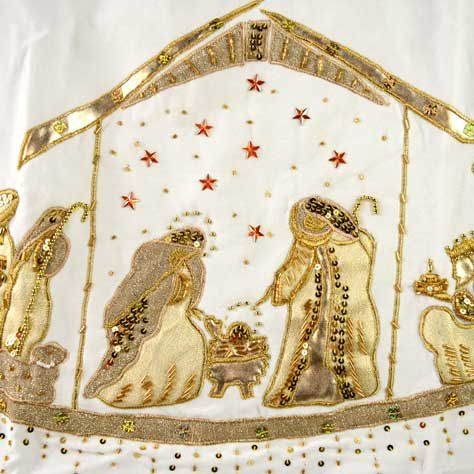 white velvet christmas tree skirt eBay