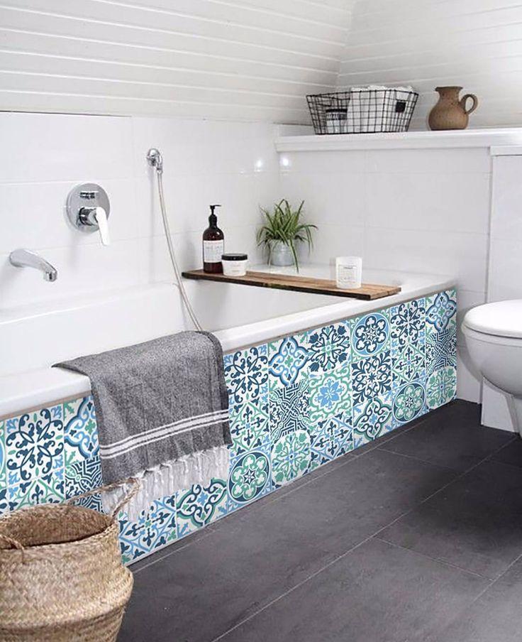 1000 ideas sobre azulejos del ba o azul en pinterest - Precio baldosas bano ...