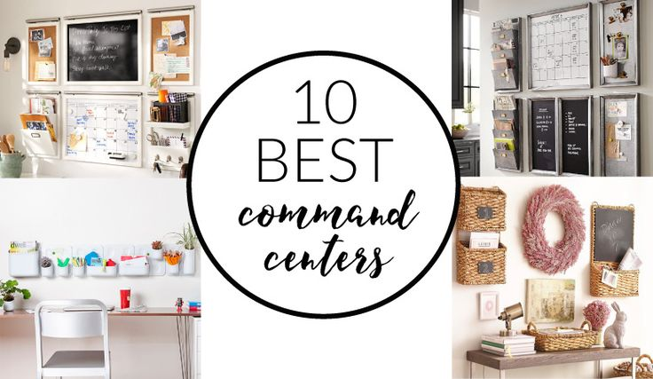 A family command center is the key to keeping a busy family organized!  And I have found for you the BEST family command center options for you!