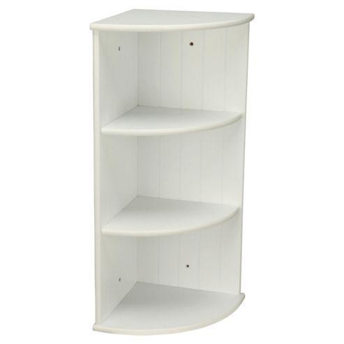 High Quality Buy Southwold Bathroom Corner Shelf Storage Unit, White Wood Tongue U0026  Groove From Our Bathroom