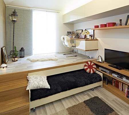 выдвижная кровать-подиум
