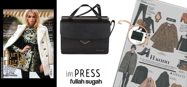 Το madame FIGARO φροντίζει για το χειμωνιάτικο στυλιστικό σου αποτέλεσμα και προτείνει την πιο κομψή μικρή τσάντα που δίνει χαρακτήρα στο outfit σου!