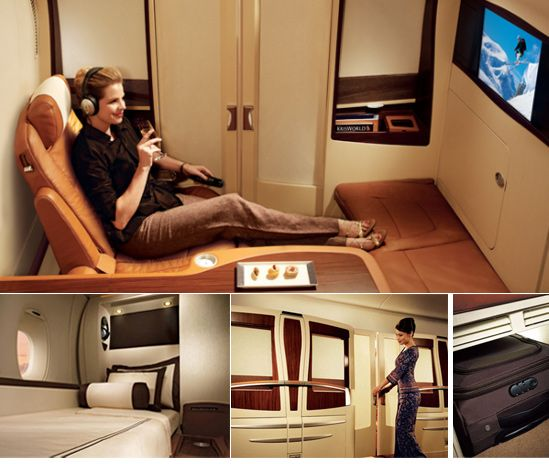 First Class Services First In Class: Singapore Airlines, Well-known For Its First Class Cabin