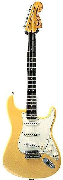 Fender USA  Yngwie Malmsteen Stratocaster (Vintage White/Rose)