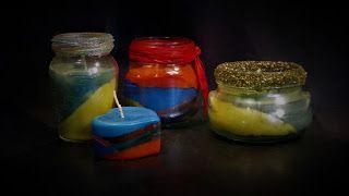 "Ideas art for everyone, DIY - Joanna Wajdenfeld: ""Drunken"" glow"