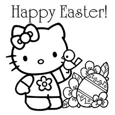 Disney Easter Coloring Pages