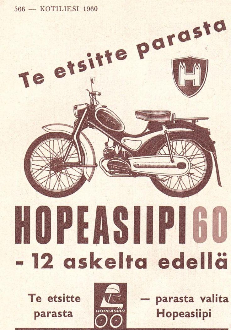 HOPEASIIPI 60  12 askelta edellä Kotiliesi 1960
