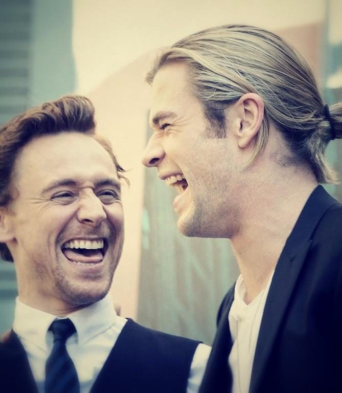 Loki and Thor (Hiddles...