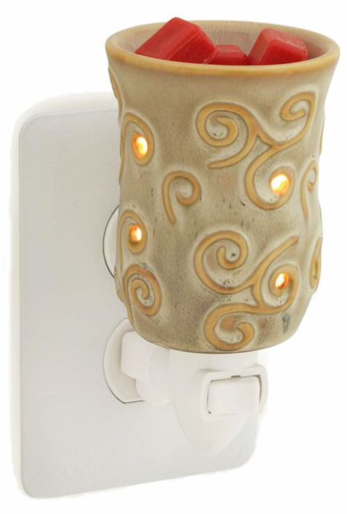 Plug In Warmer in Sand by Candle Warmers