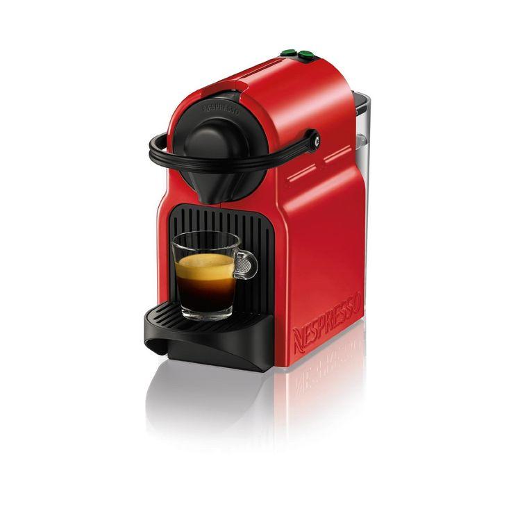 Nespresso Inissia Red Espresso Maker | Overstock.com Shopping - The Best Deals on Espresso Machines