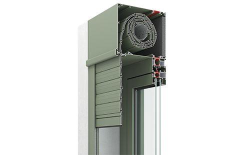 Σύστημα Ρολού SR 750. Το νέο σύστημα ρολών SR 750 συνδυάζει την υψηλή αισθητική και λειτουργικότητα ενώ ανταποκρίνεται με εξαιρετικό τρόπο στις σύγχρονες απαιτήσεις της εξοικονόμησης ενέργειας και της ασφάλειας.
