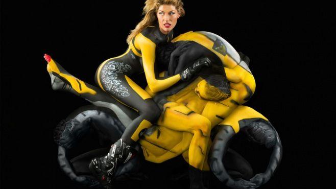 Dünyanın En Şaşırtıcı Vücut Boyama Sanatı Eserleri - Sanat - magkadin.com
