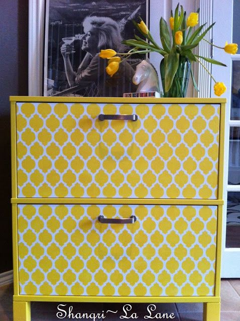 Ikea Furniture Redo - another reason why Ikea is a great place to consider for home furnishings! Many of their pieces are paintable!
