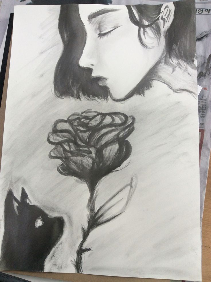 """Painting with Graphite."" Kim. 2015"