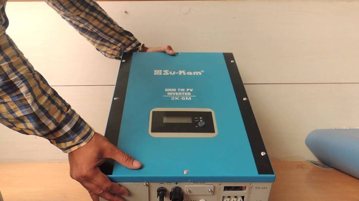 awesome DIY: How to Install Grid Tie or On Grid Solar Inverter in India Check more at http://sherwoodparkweather.com/diy-how-to-install-grid-tie-or-on-grid-solar-inverter-in-india/