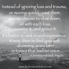 """This is so true!!! Take your time in healing yourself and letting go of trauma. Never let anyone tell you to """"get over it,"""" or """"move on."""" Everyone heals differently and sometimes it takes a long time..."""