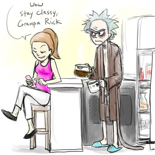 Rick and Morty - Stay Classy by jameson9101322 on DeviantArt
