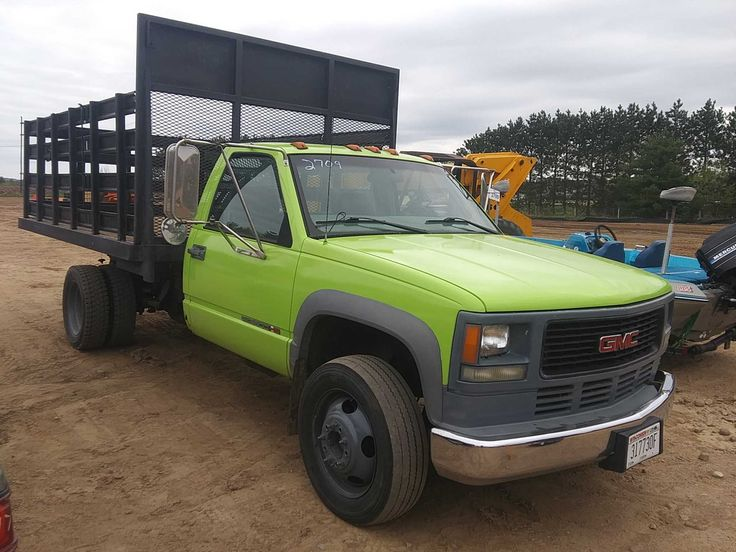 2002 Gmc 3500 Hd Tilt Bed Truck In 2020 Automatic Transmission