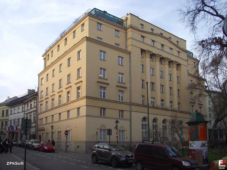 Bank i Giełda pieniężna Kraków , św.Taomasza
