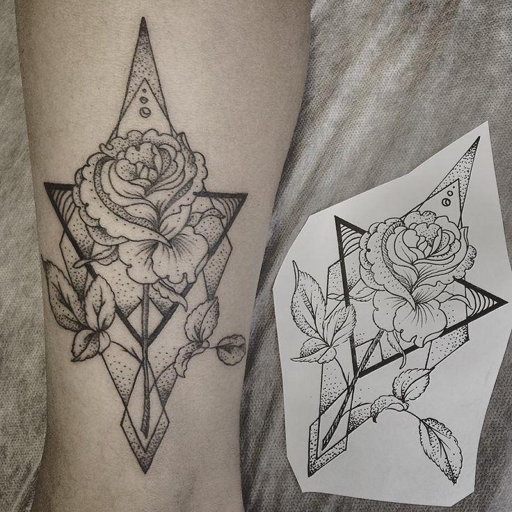 Rose Arm Tattoo