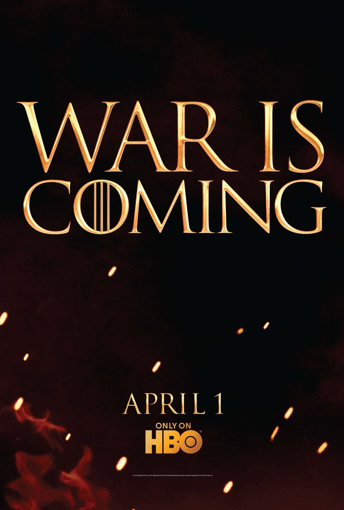 Game Of Thrones - Season 2 Promotional Poster