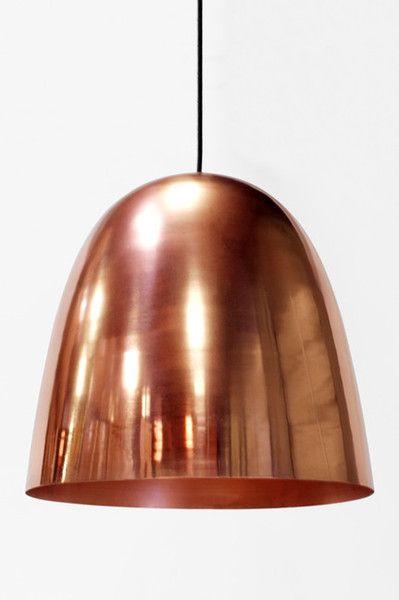Copper Dome Pendant