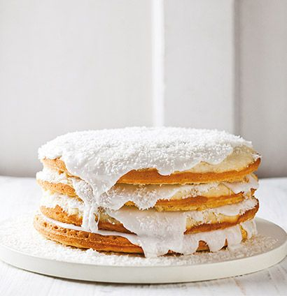 Angel's Delight - a delicious and easy coconut cake to make for teatime