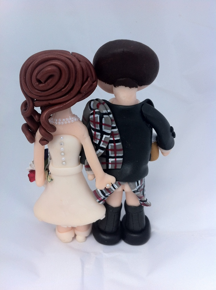 cheeky scottish wedding cake toppers 17 best images about cake toppers on jungle 12550