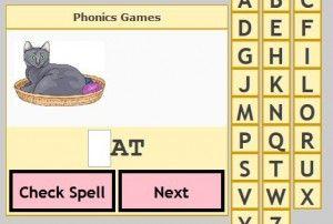beginning sounds smartboard game