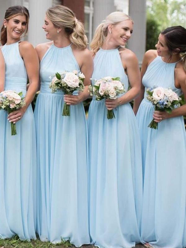 Bridesmaid Dress Baby Blue Off 70 Aigd Org Tr