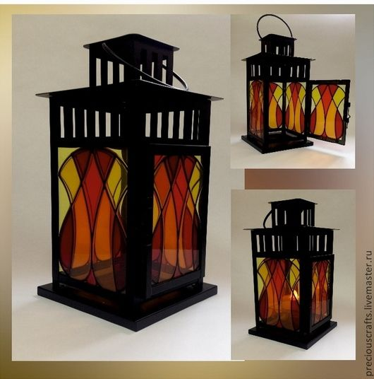 handmade glass lighting. stained glass lampsglass lanternscandlesticks handmade lighting