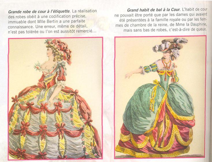 Vestidos e a moda no tempo de Maria Antonieta | Fashion from Marie Antoinette epoque