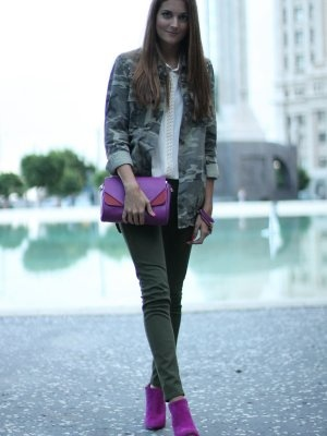 marianela406862 Outfit   Otoño 2012. Combinar Bolso Malva/morado oscuro Zara, Cómo vestirse y combinar según marianela406862 el 15-10-2012