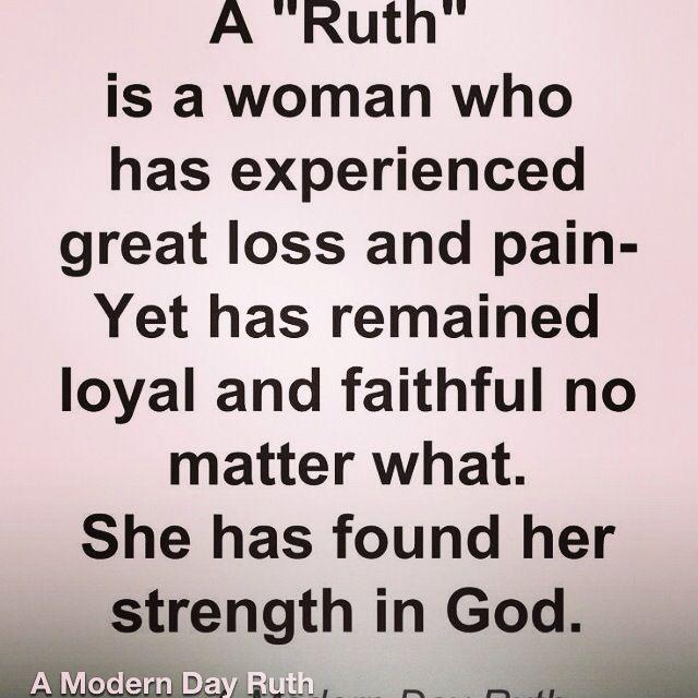 A Modern Day Ruth