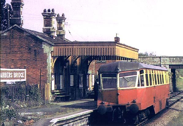 Disused Stations: Barbers Bridge Station