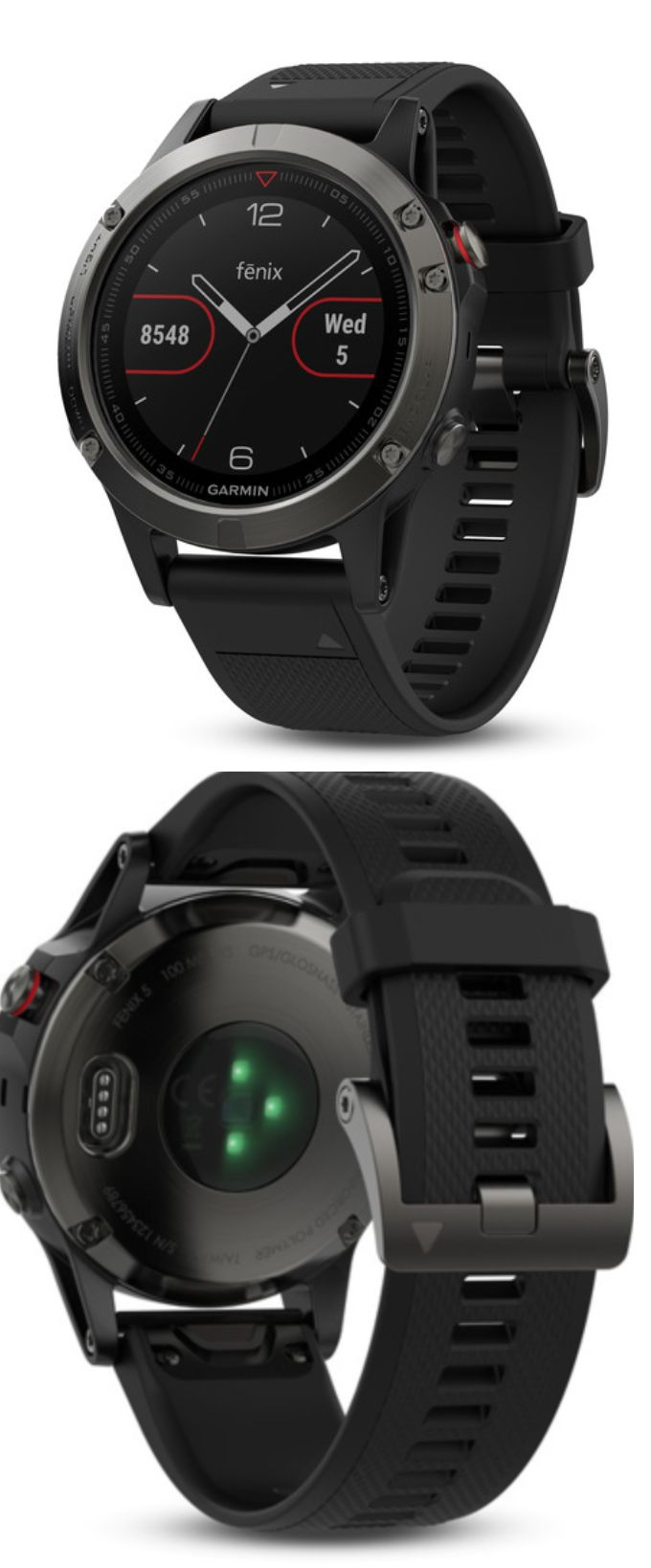 GPS and Running Watches 75230: New Garmin Fenix 5 Multisport Gps Watch - Black Band - 010-01688-00 - In Stock -> BUY IT NOW ONLY: $609.99 on eBay!