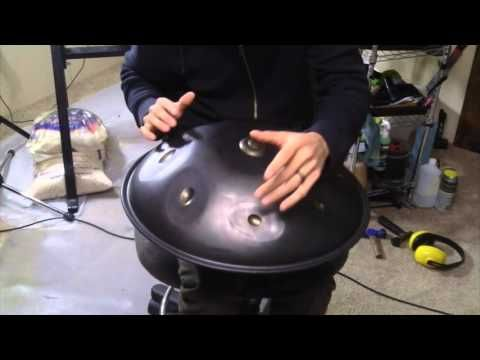 "The First 19"" Saraz Handpan - G Minor 10"